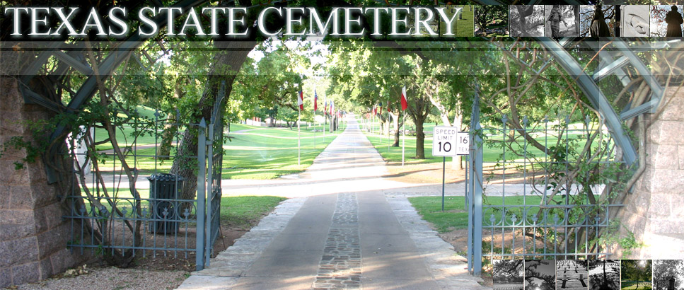 Texas State Cemetery Banner