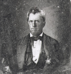 Portrait of Edward  Burleson